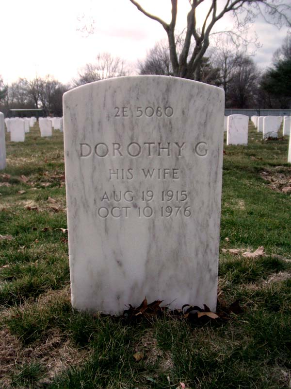 Headstone of Dorothy Leier Bosch at Long Island National Cemetery